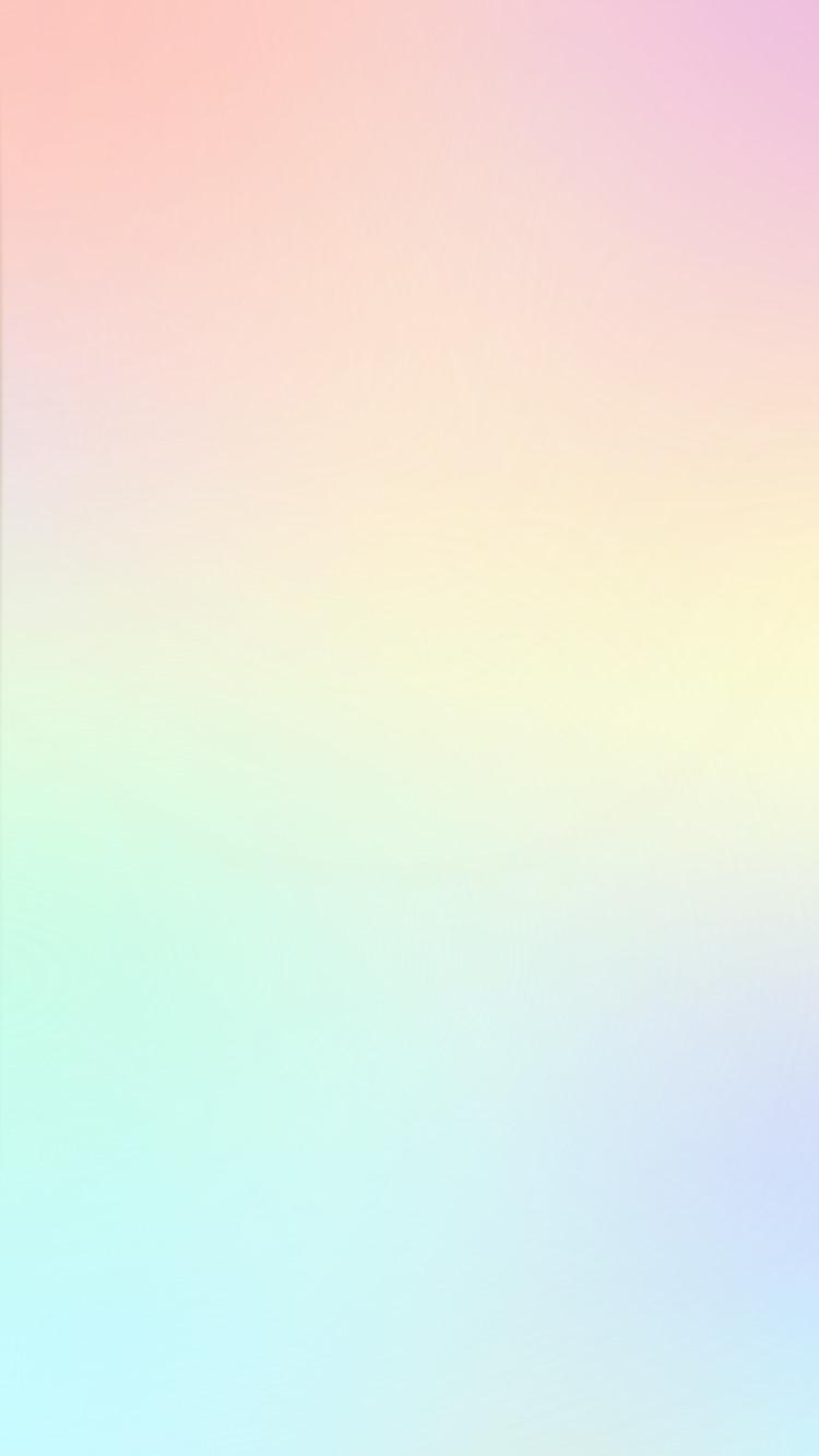 パステル レインボー Iphone6壁紙 【パステルカラー】可愛い Iphone スマホ壁紙 待ち受け画面 画像