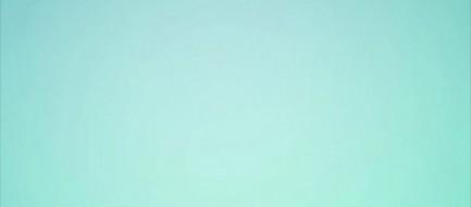 シンプルなアクアブルー iPhone6壁紙
