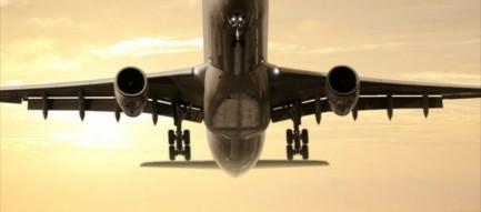 離陸するジャンボジェット 旅行 iPhone6壁紙