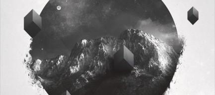 山脈 アート iPhone6壁紙