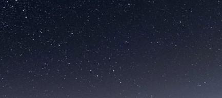 雪原と銀河 iPhone6壁紙