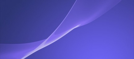 濃淡のある紫のカーテン iPhone6壁紙