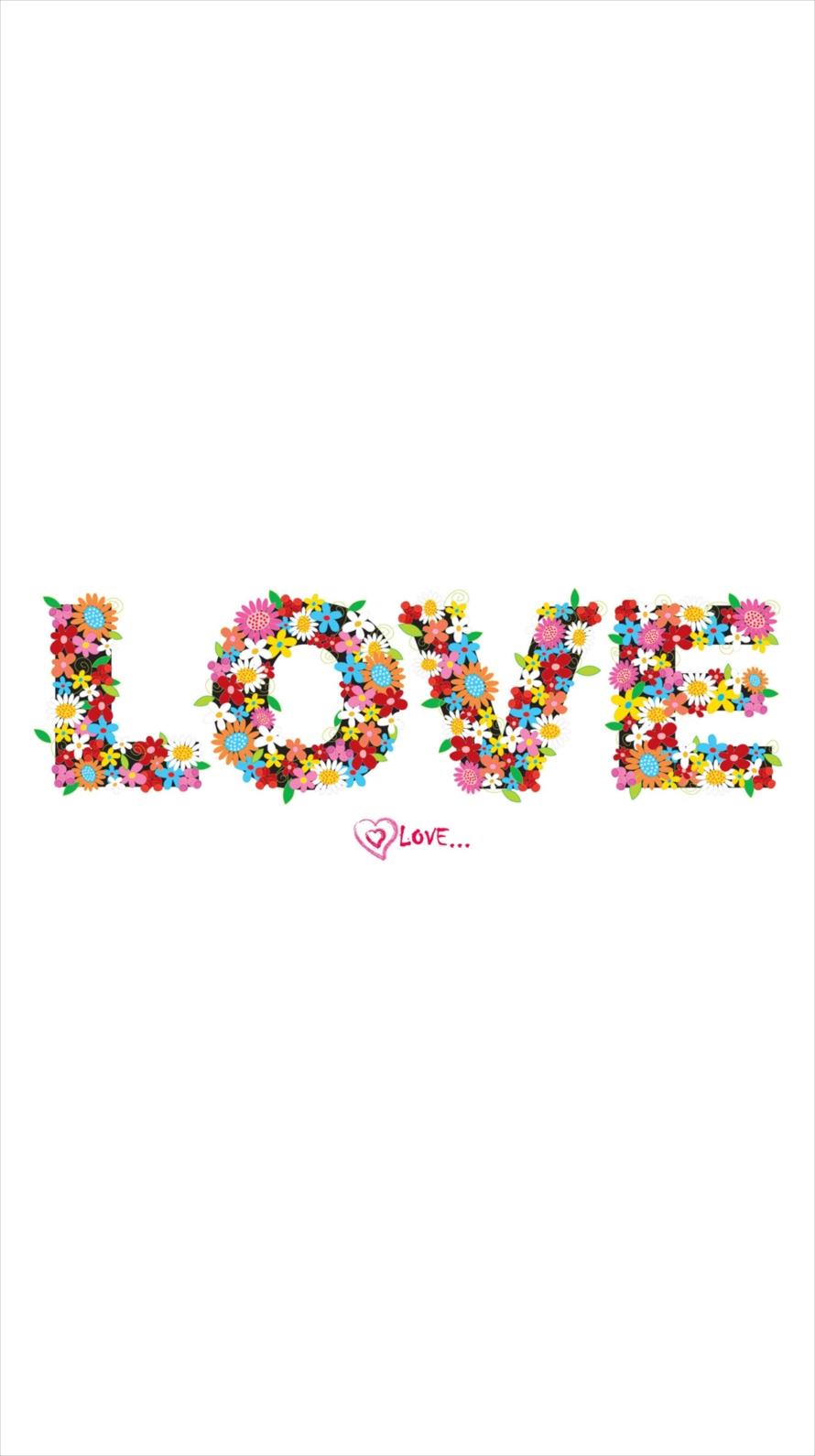 LOVEロゴ iPhone6壁紙