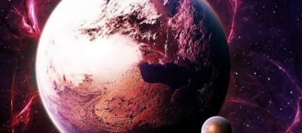 燃える惑星 プラネット iPhone6壁紙