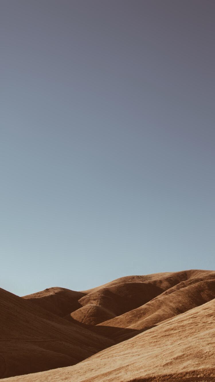 荒野と曇り空 Iphone6壁紙 Wallpaperbox