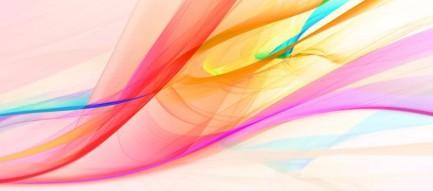 カラフルな線形 iPhone6壁紙