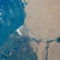 空から見た地形 iPhone6壁紙