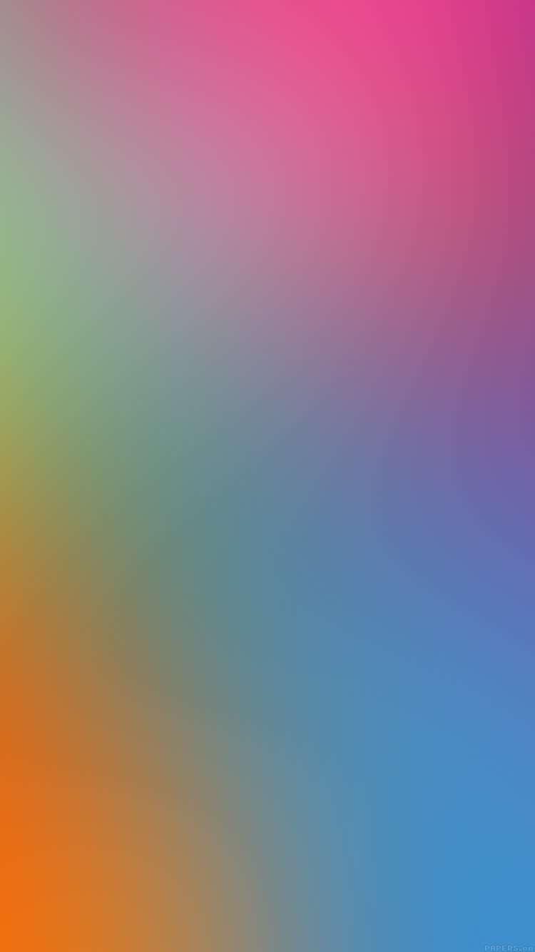 淡いカラーグラデーション iPhone6壁紙
