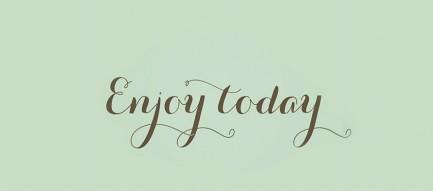 Enjoy today iPhone6壁紙