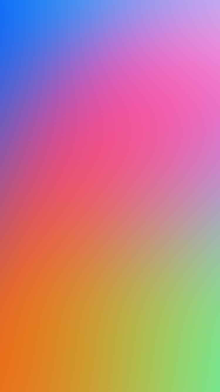 交わる色彩 iPhone6壁紙