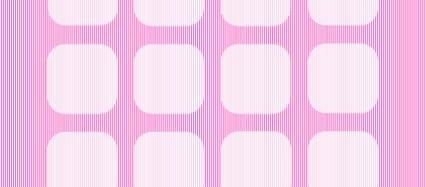 ビビッド ピンク ボーダー iPhone6壁紙