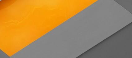 灰色と黄色のiPhone6壁紙