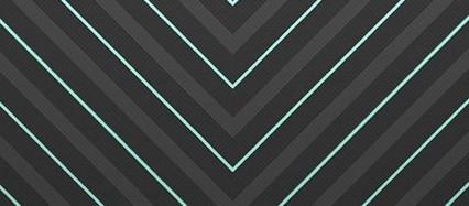 黒 緑 ボーダー iPhone6壁紙