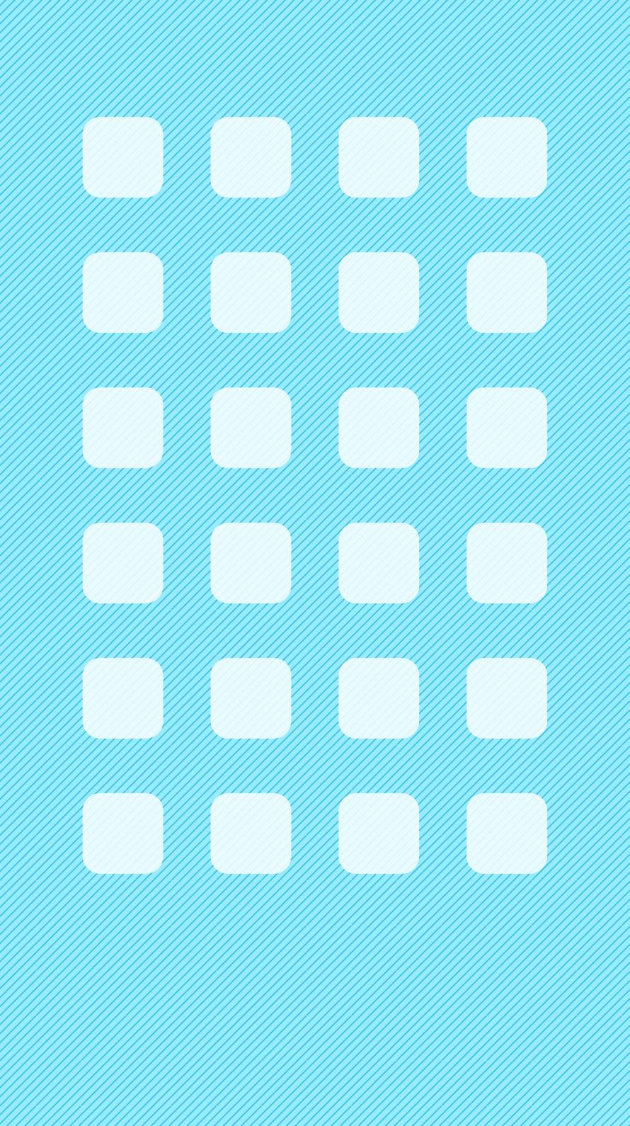 水色の斜めのストライプ iPhone6壁紙