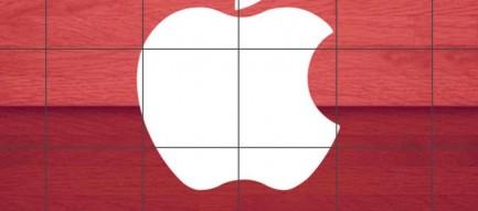 木の段差 iPhone6壁紙