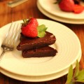 チョコレートとイチゴ iPhone6壁紙