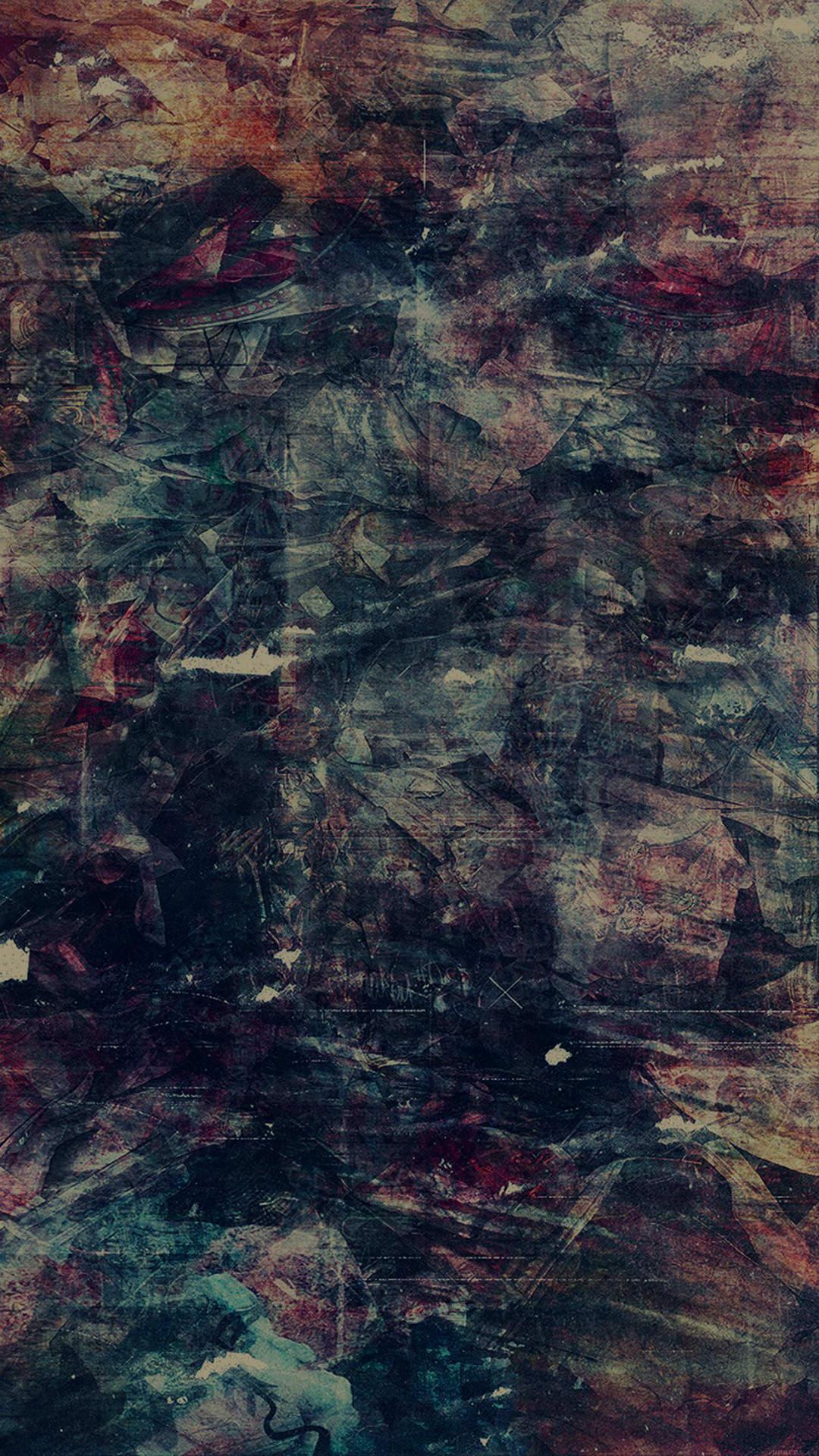 かすれた壁面 iPhone6壁紙