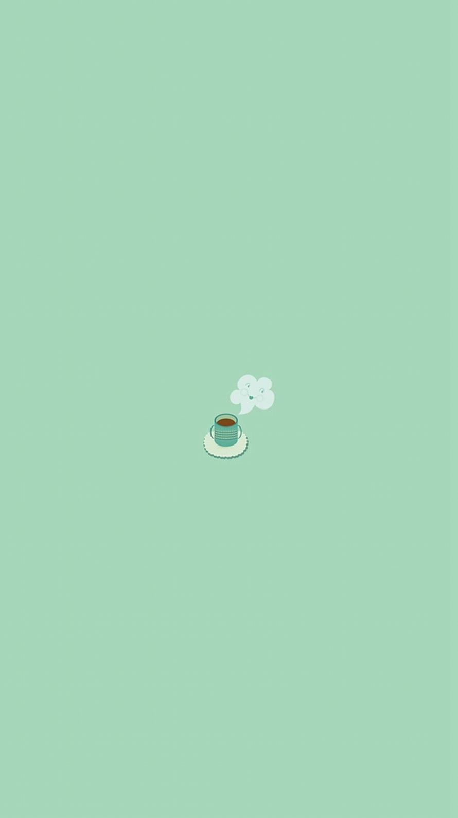 コーヒーブレイク 休憩 iPhone6壁紙