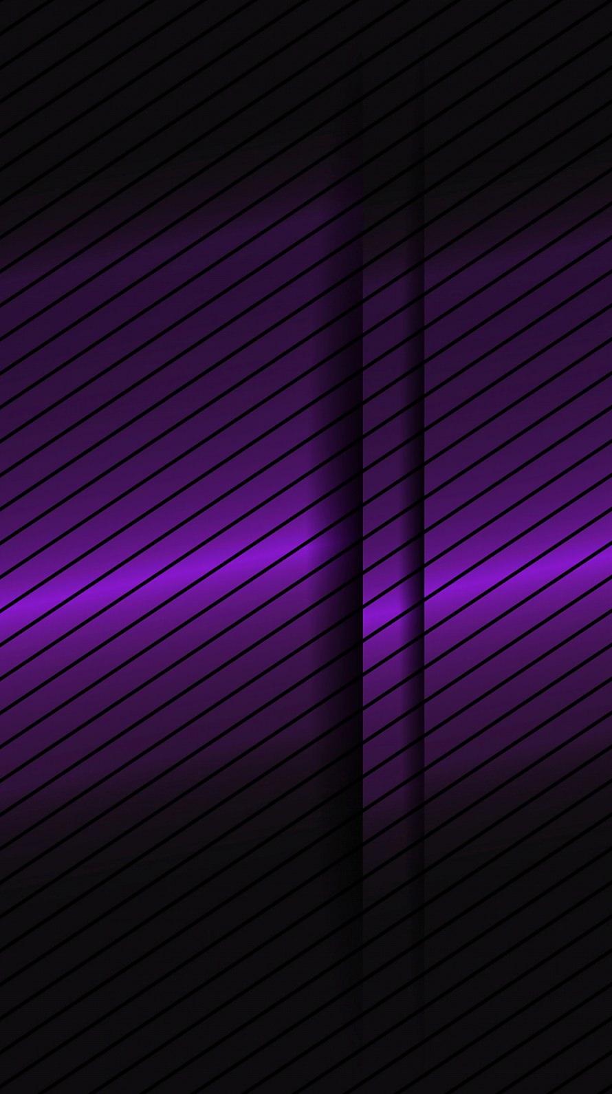 段差のある紫 iPhone6壁紙