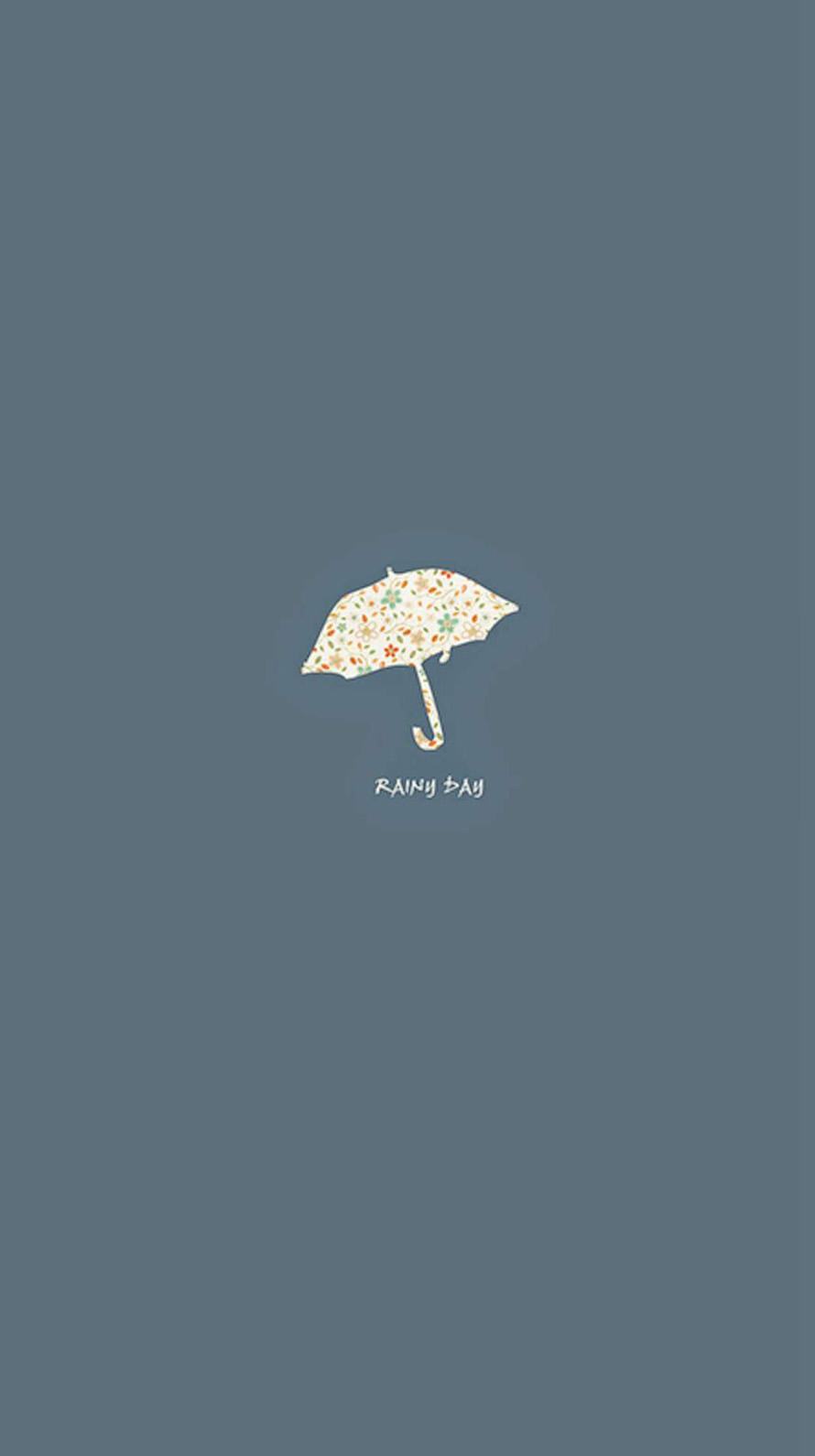 雨の日 Rainy Day iPhone6壁紙