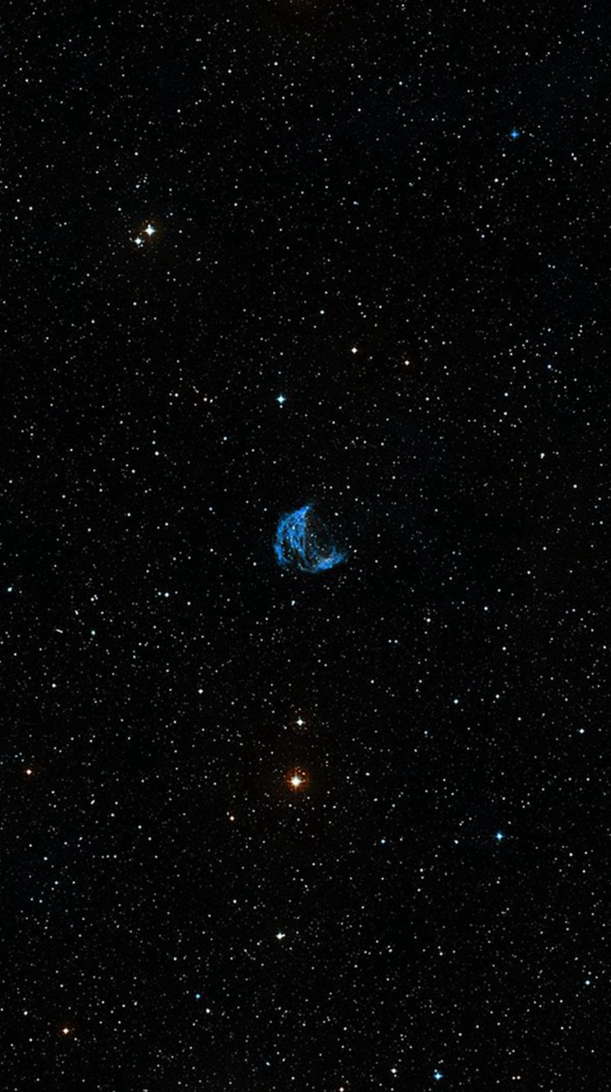 宇宙 小さな星 iPhone6壁紙
