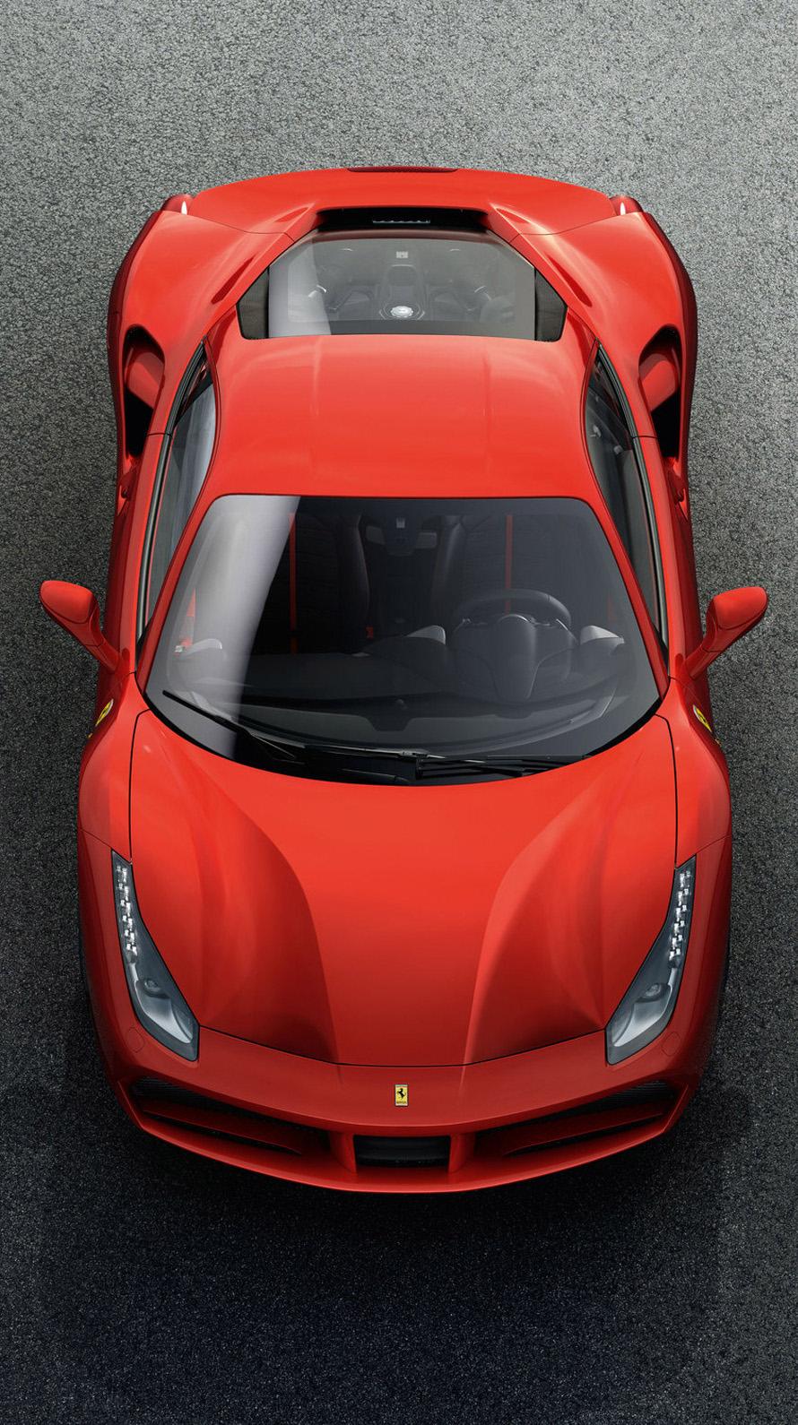 赤いフェラーリ iPhone6壁紙