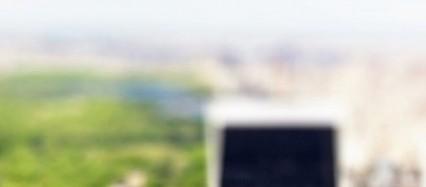 ミニチュア風の都会 iPhone6壁紙