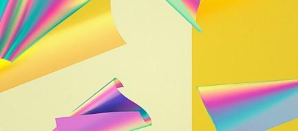 黄色のペーパー iPhone6壁紙