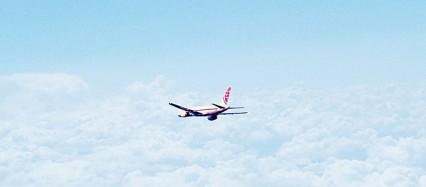 飛行機 フライト iPhone6壁紙