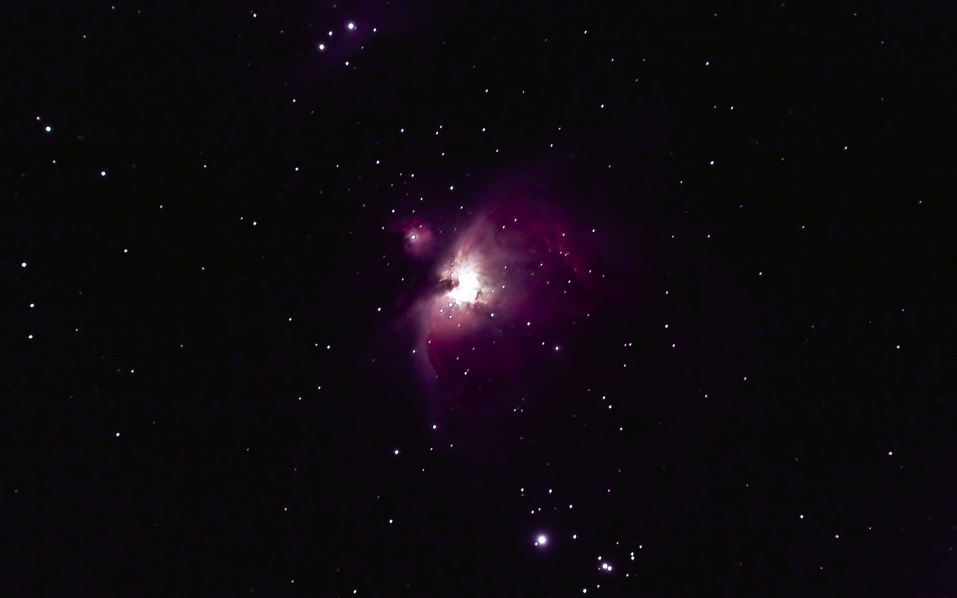 紫色の宇宙の画像