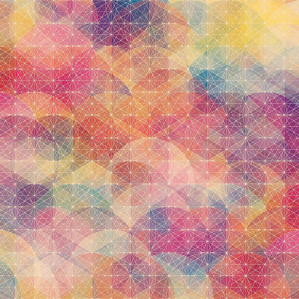 美しい幾何学模様の壁紙 Ipad用 1024 1024 Wallpaperbox