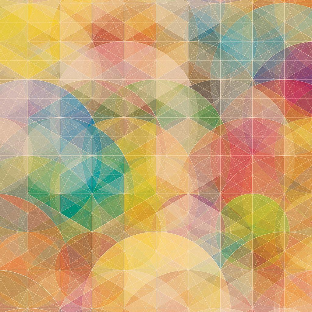 美しい幾何学模様の壁紙5 Ipad用 1024 1024 Wallpaperbox