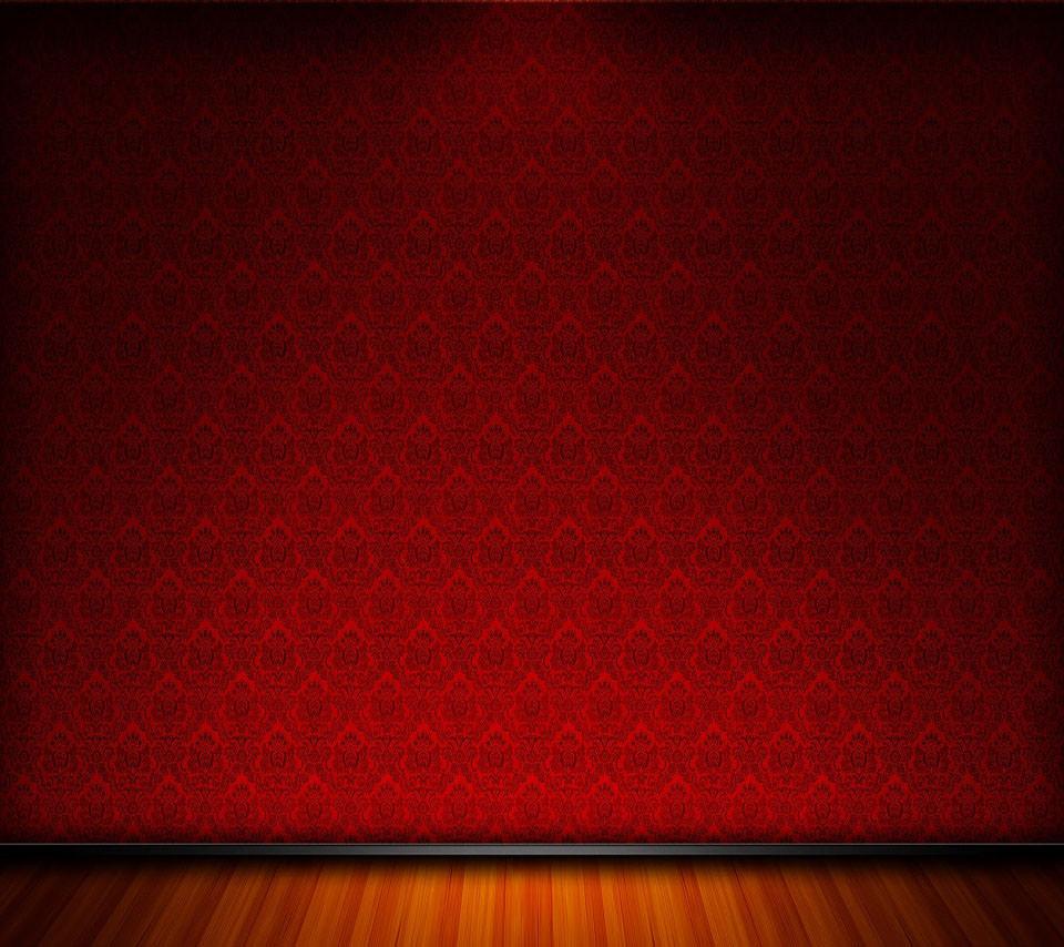お洒落な赤いスマホ用壁紙 Android用 960 854 Wallpaperbox