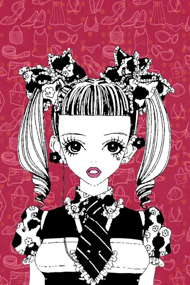 かわいい女の子のスマホ用壁紙(iPhone用/640×960)