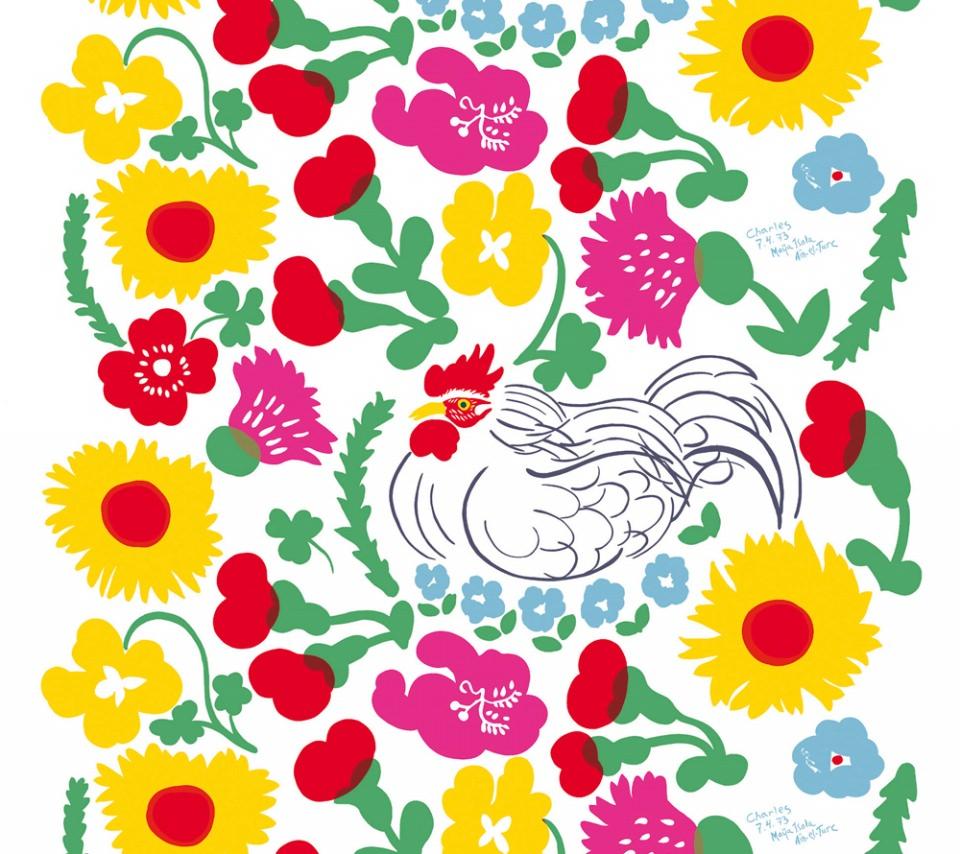 かわいいマリメッコ スマホ用壁紙 Android 960 854 Wallpaperbox