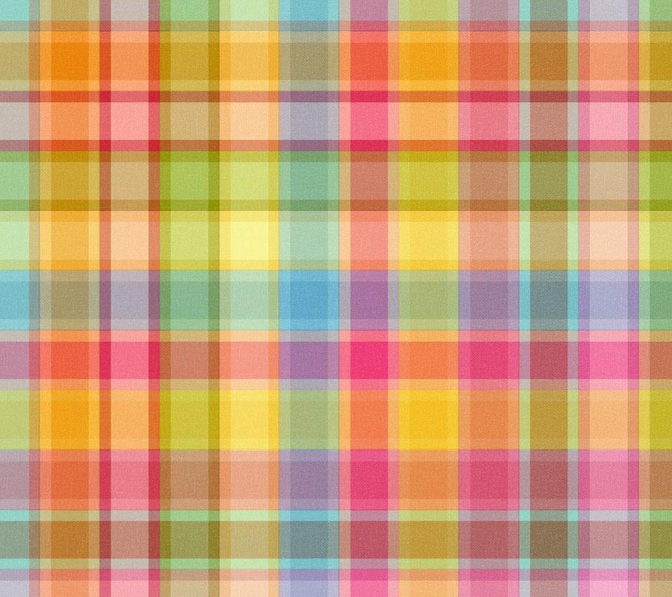 カラフルなパターン Androidスマホ用壁紙