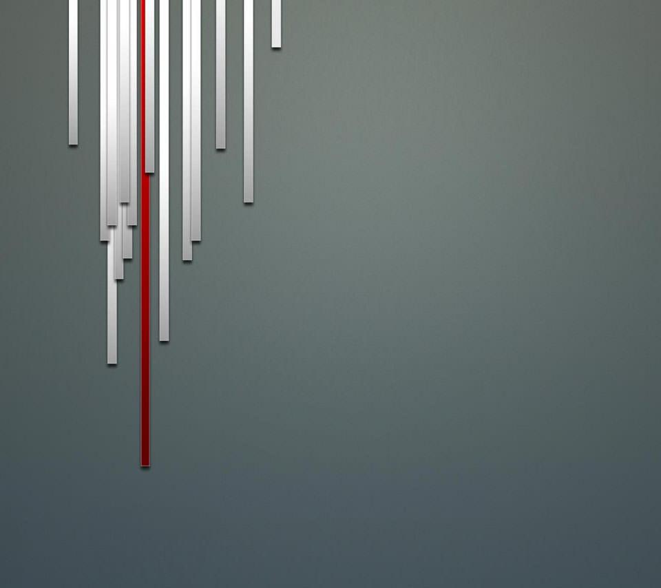 スタイリッシュなライン スマホ用壁紙(Android/960×854)