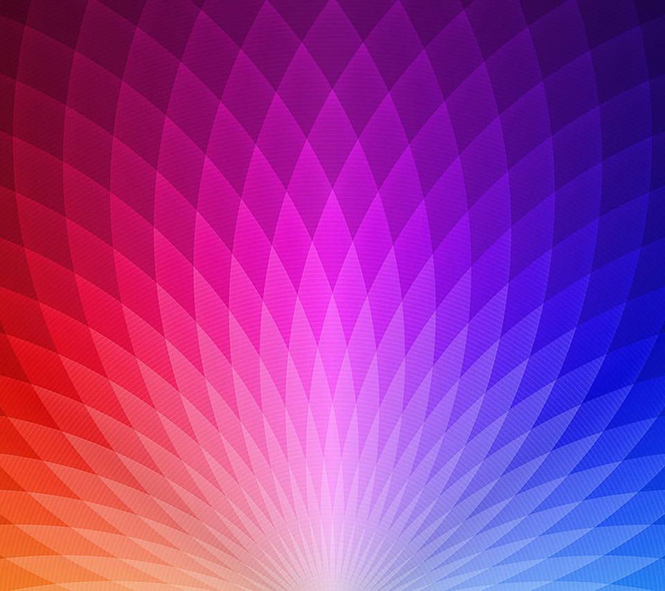 綺麗なグラデーション スマホ用壁紙(Android/960×854)