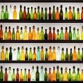 カラフルな瓶 Androidスマホ用壁紙