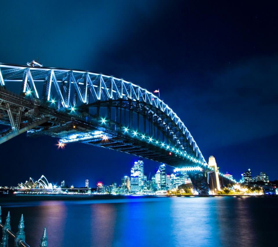 シドニーの橋 Androidスマホ用壁紙