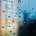 ガラスの水滴 Androidスマホ用壁紙
