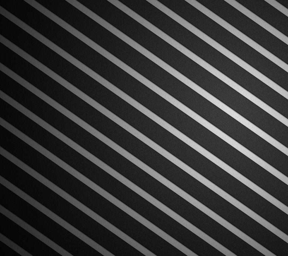 黒と白のボーダー Androidスマホ用壁紙 Wallpaperbox