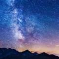 夏の銀河 iPhone5 スマホ用壁紙