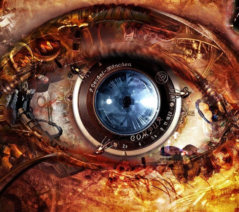 機械の瞳 Androidスマホ用壁紙 Wallpaperbox