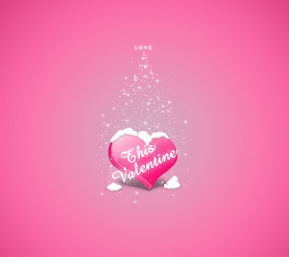 バレンタイン Androidスマホ用壁紙