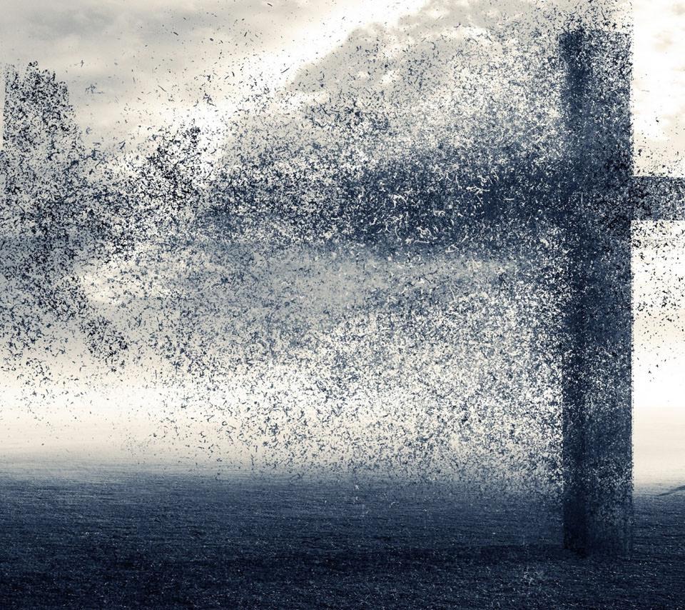 黒の十字架 Androidスマホ壁紙