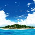 Beautiful Ocean Island Androidスマホ壁紙