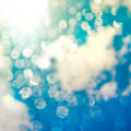 Beautiful Blue Bubble Androidスマホ壁紙