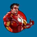 I'm Ironman iPhone5 スマホ用壁紙