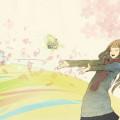 春を待つ Androidスマホ壁紙